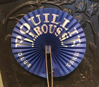 Bouillie Barousse Promotional Fan